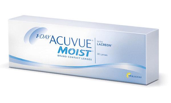 1-Day Acuvue Moist (30 čoček) - poškozený obal