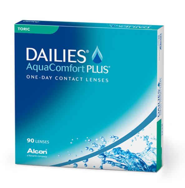 Dailies AquaComfort Plus Toric (90 čoček)