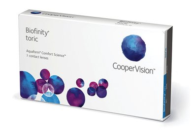 Biofinity Toric (3 čoček) - Výprodej - Expirace 01/2021