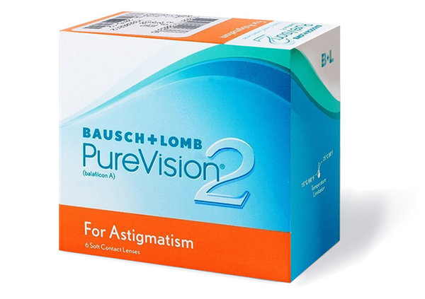 PureVision 2 for Astigmatism (6 čoček)