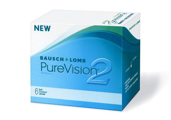 PureVision 2 HD (6 čoček) - Poškozený obal
