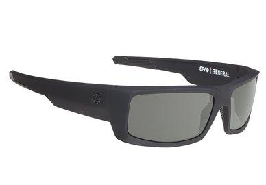 SPY sluneční brýle GENERAL Soft Matte Black - happy polar