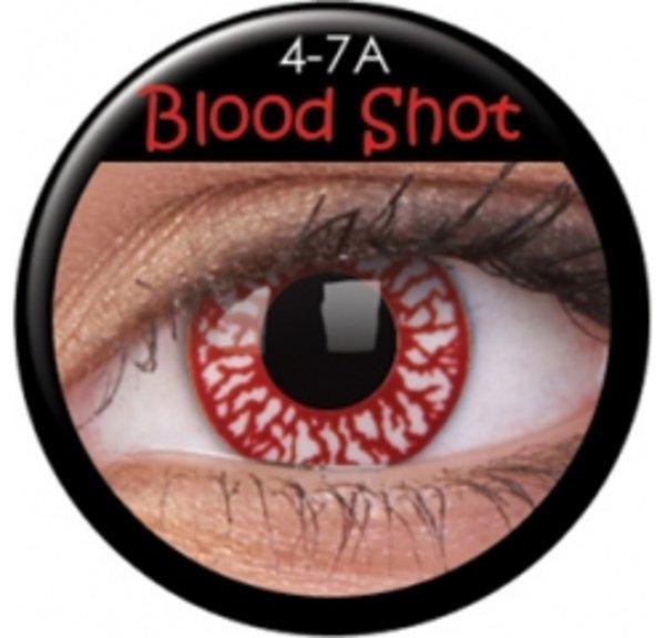 ColourVue Crazy čočky - Blood Shot (2 ks roční) - nedioptrické - poškozený obal