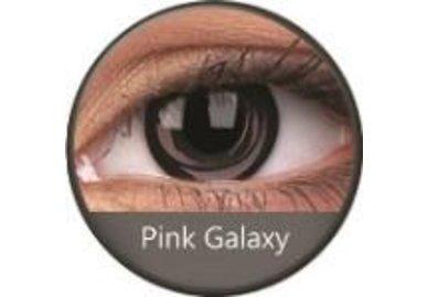 Phantasee Crazy čočky - Pink Galaxy (2 ks roční) - nedioptrické
