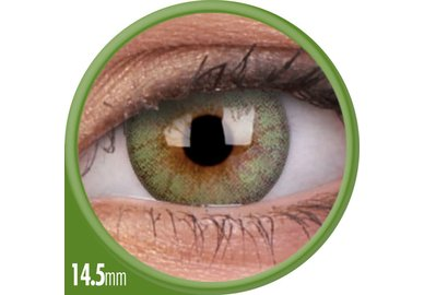 ColourVue Cheerful - Fresh Green (2 čočky měsíční) - nedioptrické