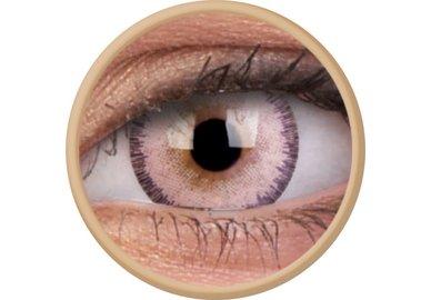 ColourVue Fizzy - Sepia Brown (2 čočky měsíční) - nedioptrické