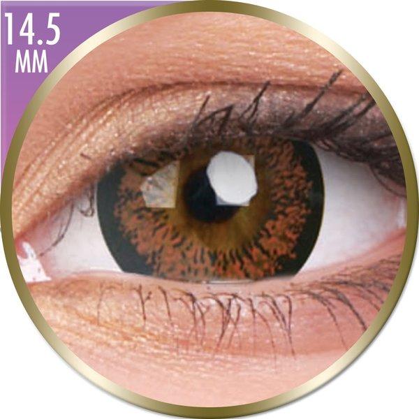 Phantasee Big Eyes - Angel Hazel (2 čočky měsíční) - nedioptrické-doprodej; výroba ukončena