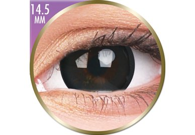 Phantasee Big Eyes - Brilliant Black (2 čočky měsíční) - nedioptrické