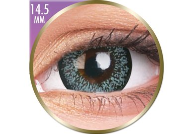 Phantasee Big Eyes - Pearl Grey (2 čočky měsíční) - nedioptrické