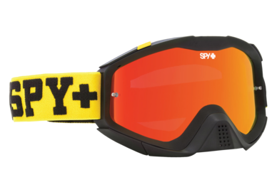 SPY motokrosové brýle KLUTCH Yellow + Clear