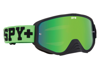 SPY motokrosové brýle WOOT RACE Green + Clear