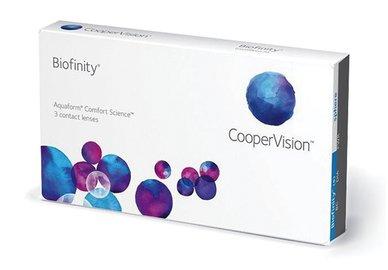 Biofinity (3 čočky) - výprodej exp.12/2020