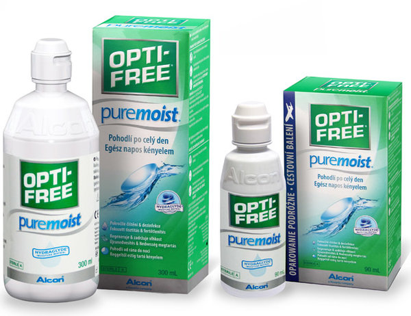 Opti-Free PureMoist 300ml + 90ml