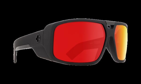 SPY Sluneční brýle Touring Matte Black Red
