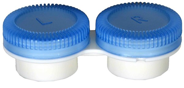 Puzdro k vibračním sadám průhledné-  náhradní - modré