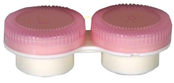 Puzdro k vibračním sadám průhledné-  náhradní - růžové
