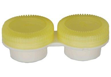 Puzdro k vibračním sadám průhledné-  náhradní - žluté