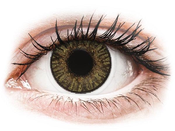 FreshLook ColorBlends - Pure Hazel (2 čočky měsíční) - nedioptrické