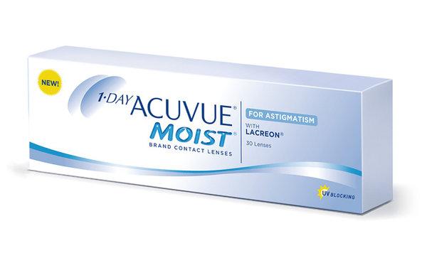 1 Day Acuvue Moist for Astigmatism (30 čoček) - výprodej skladu