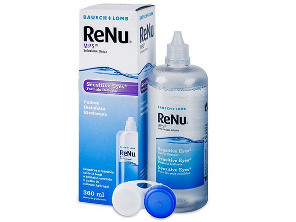ReNu MPS Sensitive Eyes 360 ml s pouzdrem