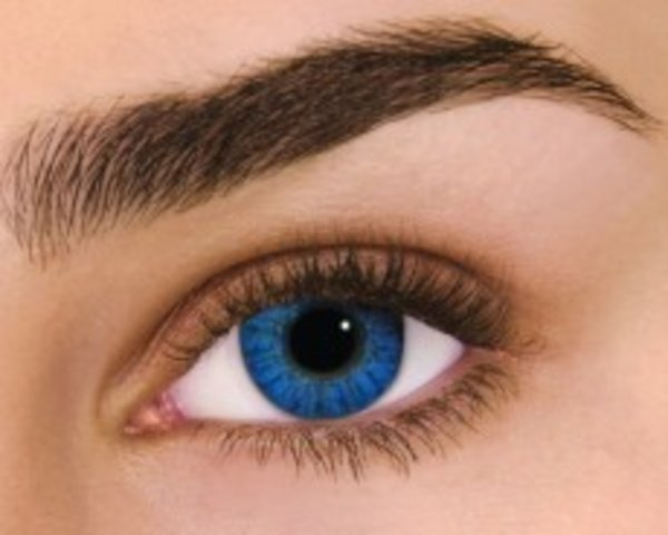 Air Optix Colors - Brilliant Blue (2 čočky měsíční) - nedioptrické - poškozený obal