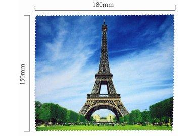 Hadřík na brýle z mikrovlákna- motiv Eiffelovka