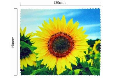 Hadřík na brýle z mikrovlákna- motiv slunečnice