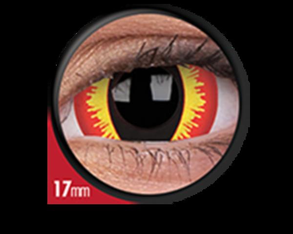 ColourVue Crazy čočky 17 mm - Smaug´s Eyes (2 ks roční) nedioptické