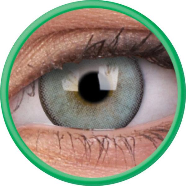ColourVue Lumina - Gleaming Green (2 čočky tříměsíční s pouzdrem) - dioptrické-doprodej; výroba ukončena