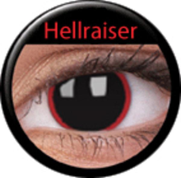 ColourVue CRAZY ČOČKY - Hell Raiser (2 ks tříměsíční) - dioptrické - exp.02/21