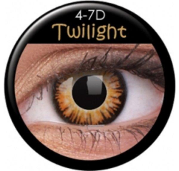 ColourVue Crazy čočky - Twilight (2 ks roční) - nedioptrické - exp.4/2020