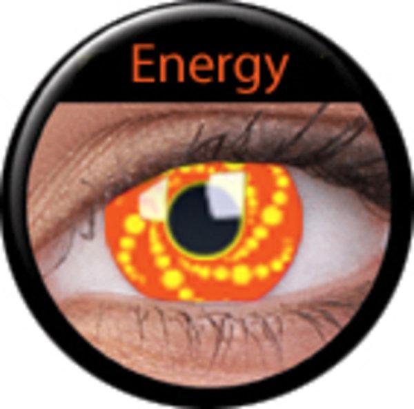 ColourVue CRAZY ČOČKY - Energy (2 ks tříměsíční) - nedioptrické - ex.4/2020