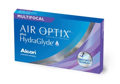 Air Optix plus HydraGlyde Multifocal (6 čoček)