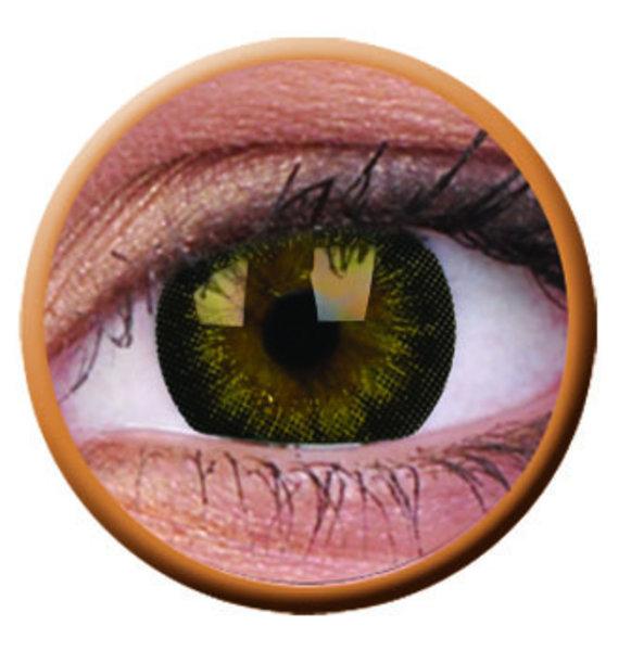 ColourVue Big Eyes - Georgeous Grey (2 čočky  tříměsíční ) - dioptrické - exp.11/2019