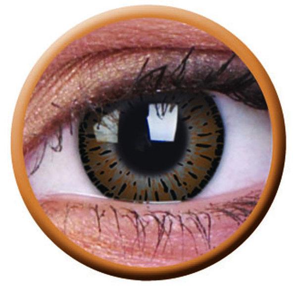 ColourVue Elegance - Brown (2 čočky tříměsíční) - nedioptrické - exp.08/2020