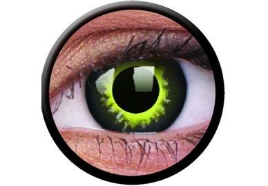 ColourVue Crazy čočky - Eclipse (2 ks roční) - nedioptrické