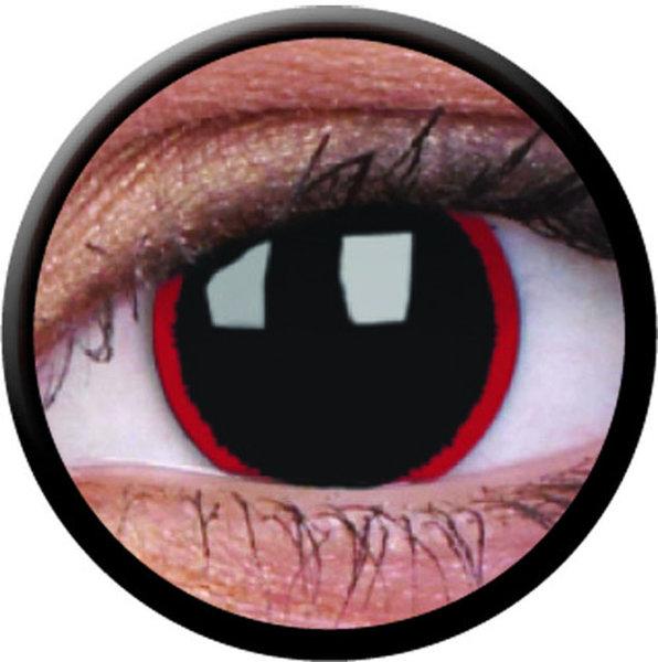 ColourVue Crazy čočky - Hell Raiser (2 ks roční) - nedioptrické