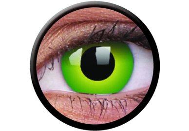 ColourVue Crazy čočky - Hulk Green (2 ks roční) - nedioptrické