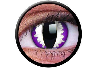 ColourVue Crazy čočky - Purple Dragon (2 ks roční) - nedioptrické