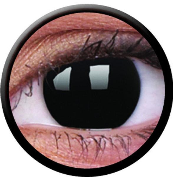 ColourVue CRAZY ČOČKY - Blackout (2 ks tříměsíční) - dioptrické
