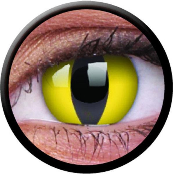 ColourVue CRAZY ČOČKY - Cat Eye (2 ks tříměsíční) - dioptrické - exp.04/2020