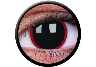 ColourVue CRAZY ČOČKY - Hell Raiser (2 ks tříměsíční) - dioptrické