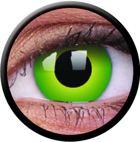 ColourVue CRAZY ČOČKY - Hulk Green (2 ks tříměsíční) - nedioptrické