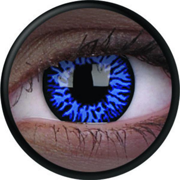 ColourVue Crazy čočky UV svítící - Glow Drax (2 ks roční) - nedioptrické