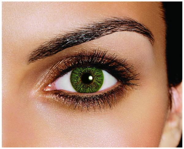 FreshLook Colors - Green (2 čočky měsíční) - dioptrické