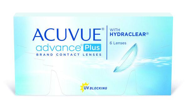 Acuvue Advance Plus (6 čoček) - DOPRODEJ