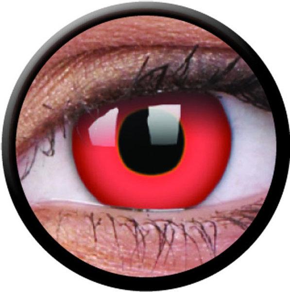 ColourVue CRAZY ČOČKY - Red Devil (2 ks tříměsíční) - dioptrické