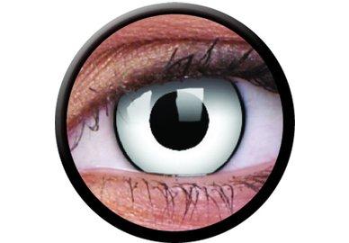 ColourVue CRAZY ČOČKY - White Zombie (2 ks tříměsíční) - dioptrické - exp.04/2020