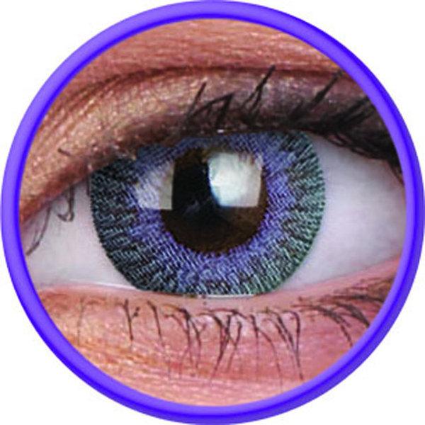 Fusion - Violet Gray dioptrické (2 tříměsíční čočky) - exp.02/2020