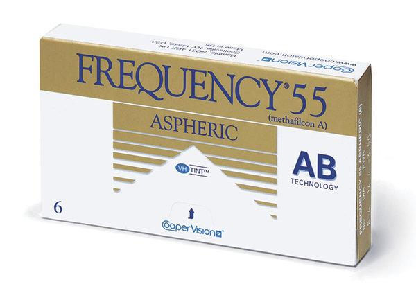 Frequency 55 Aspheric (6 čoček) - Expirace 2020